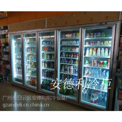 供应安德利冷冻-10~-18度五门饮料冷藏柜(H5)