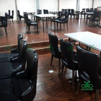 批发不锈钢脚餐桌 茶餐厅防火板餐桌椅 直接工厂订制