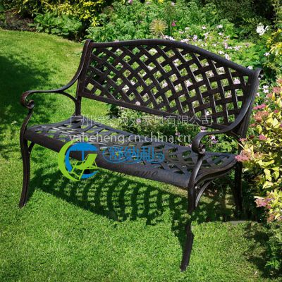 上海公园椅 嘉定户外公园椅 铸铝休闲长椅 铸铝户外广场椅
