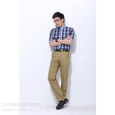 男裤春装品牌薄款男式休闲裤批发
