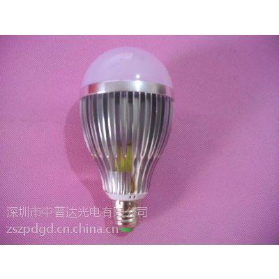 厂价批发3W5W7W9W12W15W20W30W40W螺口卡口车铝LED球泡灯