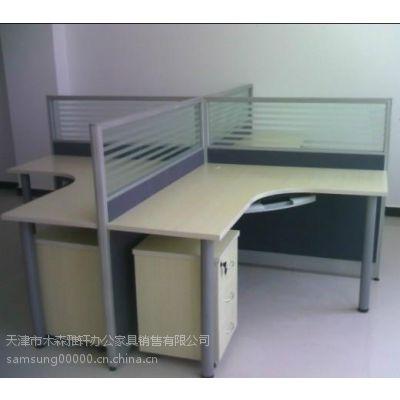 天津简易屏风办公桌,屏风隔断办公桌,天津多人组合批发办公桌