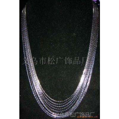 韩式金丝链项链 时尚流行项饰 欧美式项链 服装配饰项链 饰品