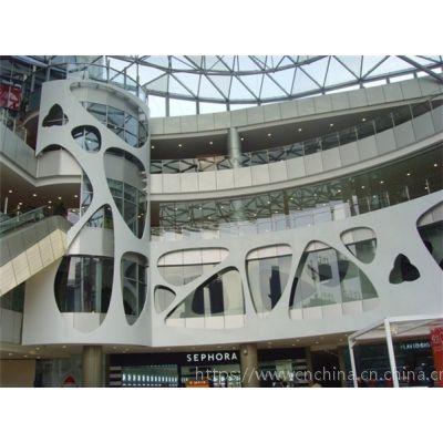 商店装修装饰材料幕墙铝单板,造型铝单板尺寸规格定做