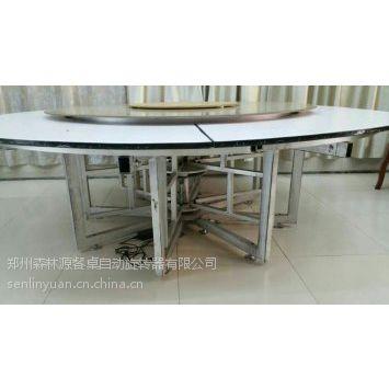 实用的钢支架平稳电动/电动餐桌/电动钢支架/玻璃转盘