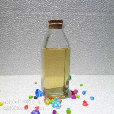 供应供应350ml冷泡茶玻璃瓶 饮料瓶 冰桔茶玻璃瓶