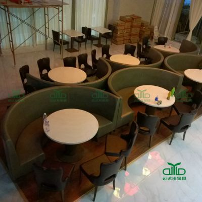 专业供应订做茶餐厅大理石桌 甜品店大理石桌 咖啡厅餐桌椅 运达来直销价