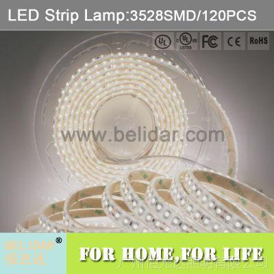 ul认证 3528 led灯带 120灯 低压12v 24v 裸板 led strip lamp
