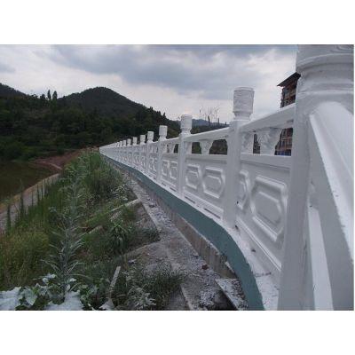 混凝土仿石护栏 河道仿石栏杆河南专业供应,