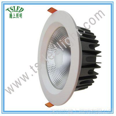6寸24W cob筒灯 嵌入式led筒灯 厂家直销家居防雾天花射灯 节能灯
