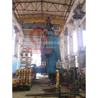 大型立式车床设备吊装 广州明通专业的设备吊装