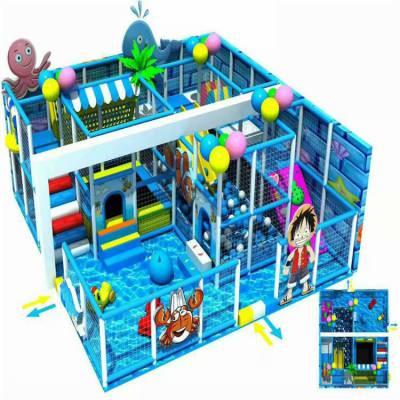 清苑室内儿童乐园升级改造新品儿童椰子树转马设备安装儿童益智绘画手工玩具