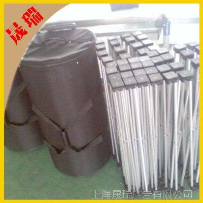 【厂家直销】 厂家批发 铝合金拉网展架 户外广告展示器材