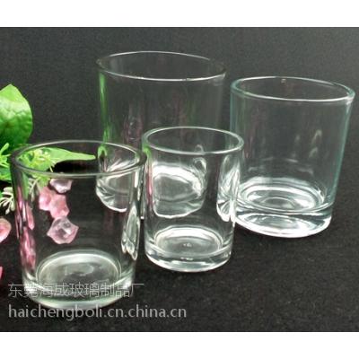 海成B98圆口直身透明高硼硅玻璃杯