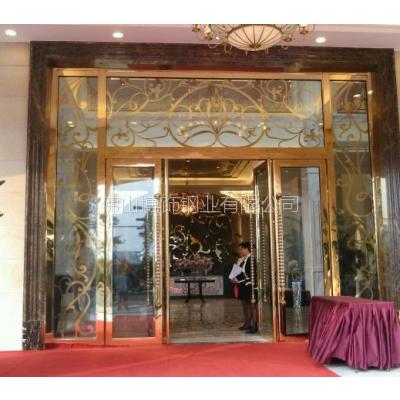 供应温岭市304不锈钢门销售价格 不锈钢镀铜门生产厂家 不锈钢门图片