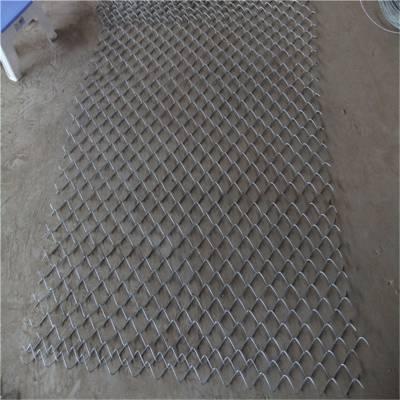 勾花网卷径怎么算 包塑勾花网 野兔围栏铁丝网