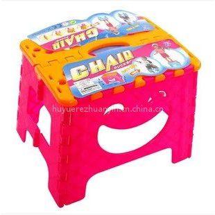 浙江宁波出口外贸PP塑料折叠凳印刷加工厂家 塑料制品转印膜定制厂家