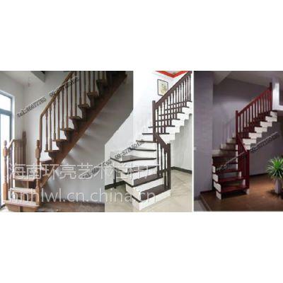海口楼梯厂家安装实木扶手
