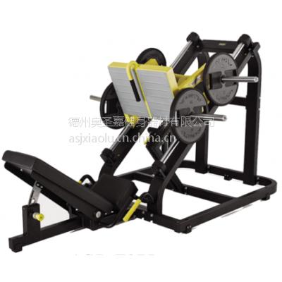 供应奥圣嘉 45度线型蹬腿Z975 大型健身器械健身房专用不锈钢管材经济耐用