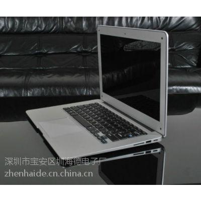 四核13.3寸 超薄高清 触摸超级笔记本 CPU N2815 2G/320G 笔记本电脑