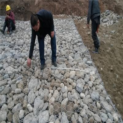 护堤石笼网厂 高镀锌石笼网价格 堤坡格宾网