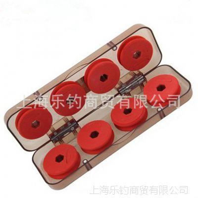 焱龙 透明主线盒8轴(主线盒) 渔具配件盒 高档线组盒