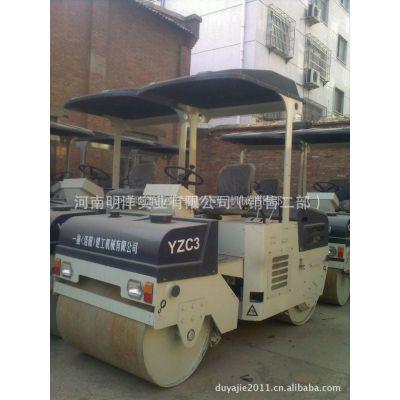 供应洛阳洛建机械3吨双钢轮振动压路机YZC3