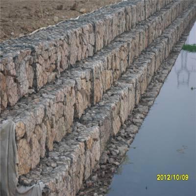 绿色石笼网哪里有卖 河床石笼网生产厂家 金属格宾网