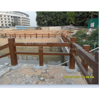 仿木栏杆、水泥仿木护栏