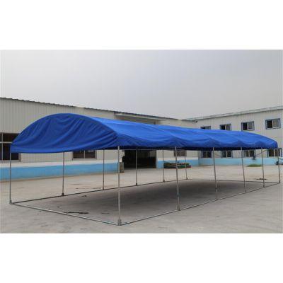 拱形圆顶帐篷,救灾帐篷,烧烤,餐饮,仓库,车库,物流都可使用齐鲁帐篷厂生产4米宽6米长