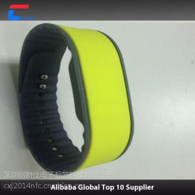 RFID手腕带,IC手表卡供应商,医用腕带,进口S50硅胶手腕带