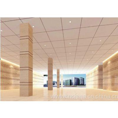 600*600鋁方板裝飾吊頂  工程裝修鋁扣板規格厚度選擇