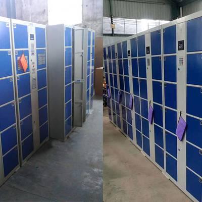 学校一卡通更衣柜 学生存包柜12门学生刷卡电子存包柜价格多少