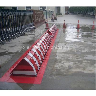 黑龙江哈尔滨路障 全自动翻转路障 阻车器 液压路障机