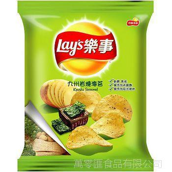 台湾进口食品  樂事九州岩燒海苔76g 12包/箱(缺貨)