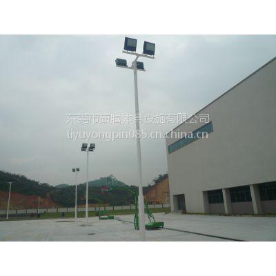 篮球场灯光 羽毛球场灯光 室内球场灯光 球场灯杆