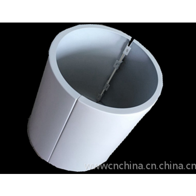 弧形包柱铝单板规格尺寸定制,AG真人客户端 造型镂空包柱铝幕墙
