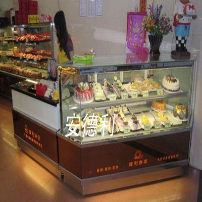 生产定做 拼角蛋糕保鲜柜 L型蛋糕柜 转角蛋糕冷藏柜(L)
