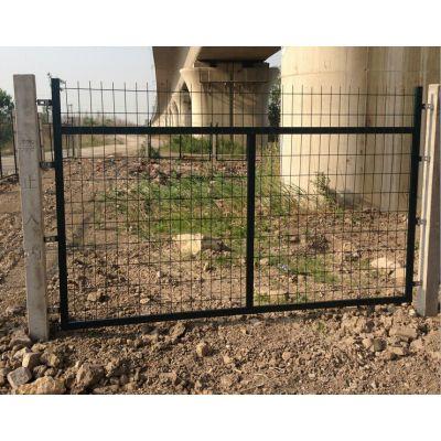 沃达现货供应高速铁路桥下防护栅栏(金属网片)