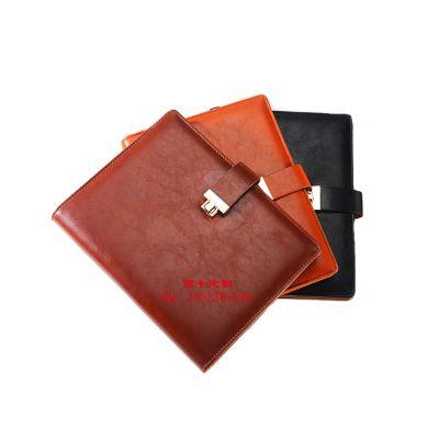 西卡定制高档活页笔记本厂家定做加工 西安仿皮活页本定制烫金 皮面笔记本制作烫金