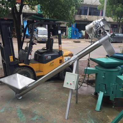 白砂糖颗粒螺旋上料机 可移动升降上料机械Q5