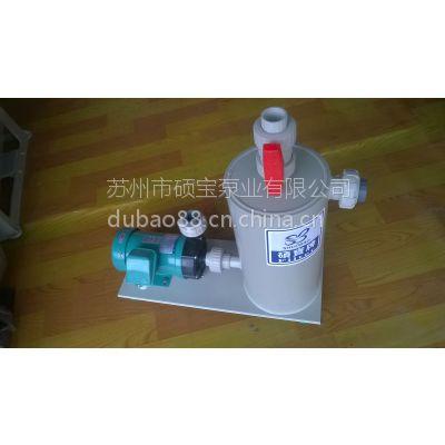 供应微型电磁泵220V 耐腐蚀磁力泵 耐酸碱 耐高温磁力循环泵 废水排污小型自吸式磁力泵