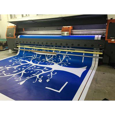 5米喷绘/不拼接 巨幅大型喷绘 围档 舞台背景 灯箱布 高精度写真
