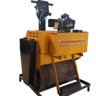 硕阳SY-600C手扶振动双钢轮柴油压路机生产厂家