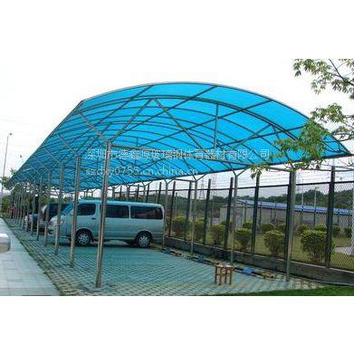 承包惠阳阳光板停车棚安装工程、价格实惠