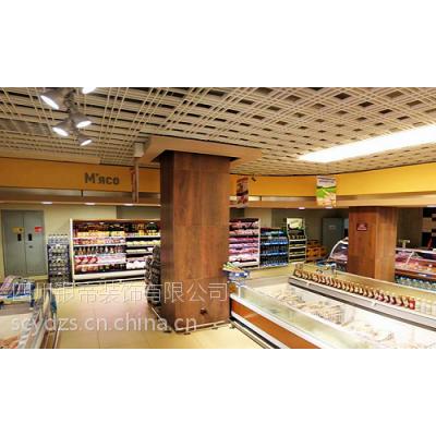 成都超市装修,成都小型超市装修,成都便利店装修