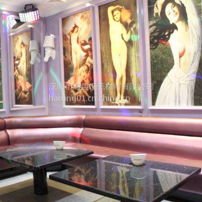 ktv油画装饰 酒吧墙面大型抽象壁画 客厅挂画壁画