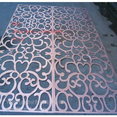 供应专业铝板切割、雕花、镂空(便宜、快捷)