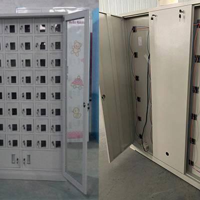 30门小型工具存放柜 账表账单保存柜 办公用物品寄存柜家具定制