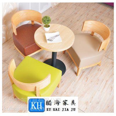 赣州定购酷海家具KH-2602简约现代实木餐厅桌椅优质耐磨